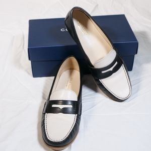 Cole Haan Women's Emmons Loafers in Black - Ivory